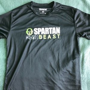 Spartan Race 2018 Beast Finisher Shirt Size M